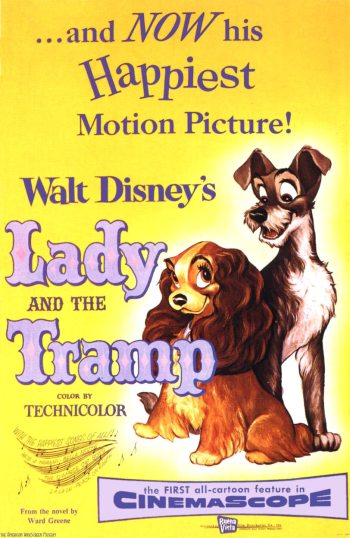 Lady and the Tramp Poster 2