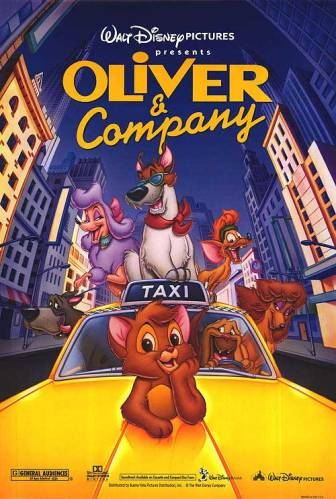 Oliver and Company Poster