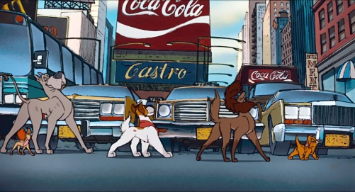 Oliver And Company Streets Of Gold