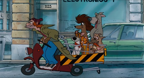 Oliver and Company The Gang