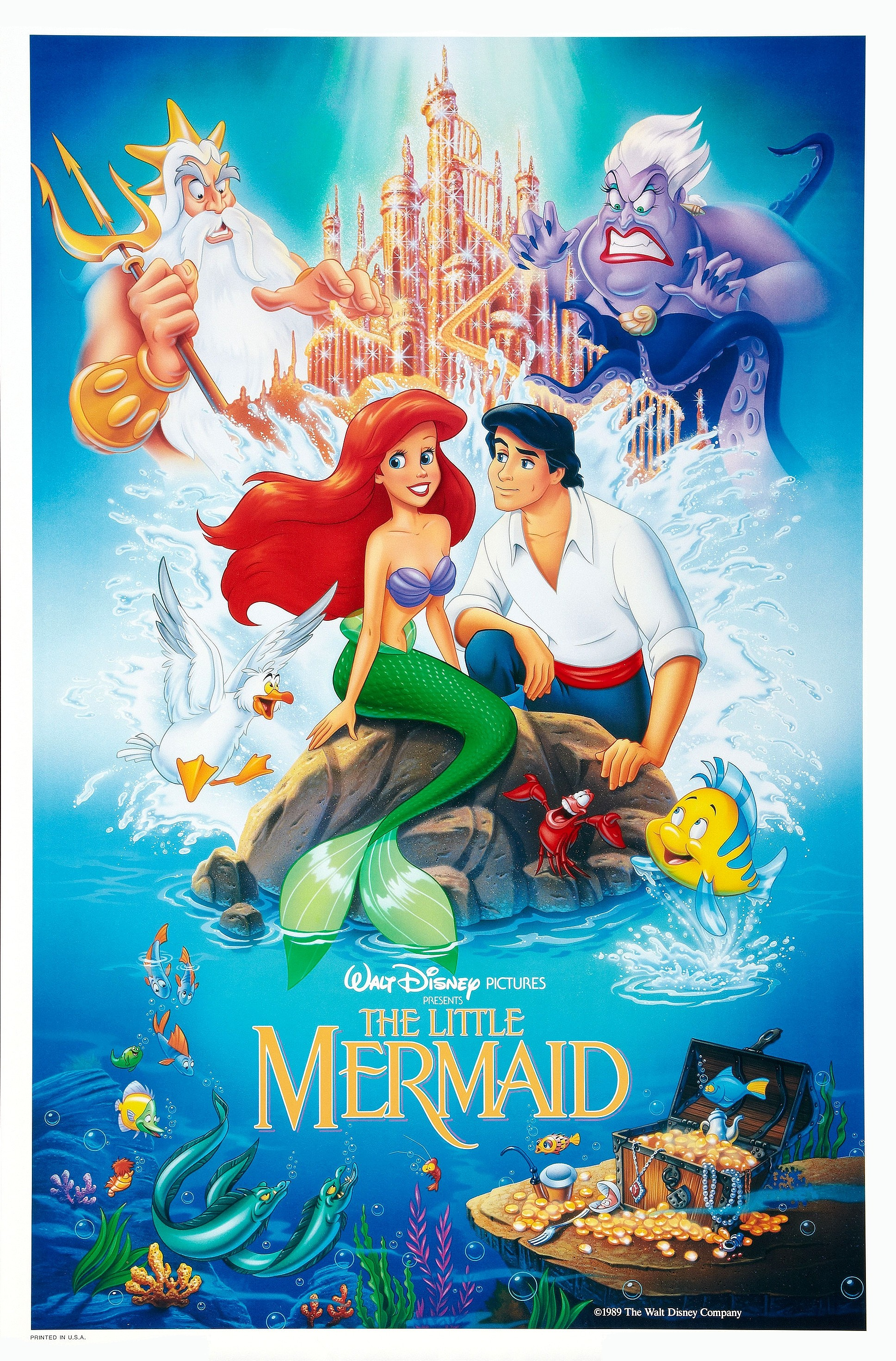 The Little Mermaid (1989) Review | The Cool Kat's Reviews