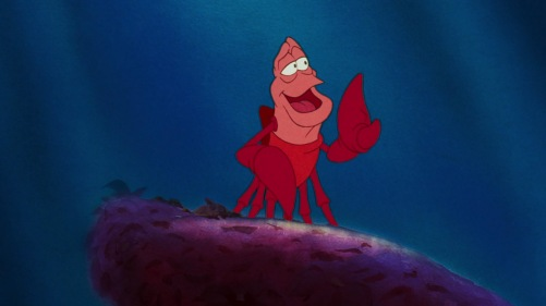 The Little Mermaid Sebastian