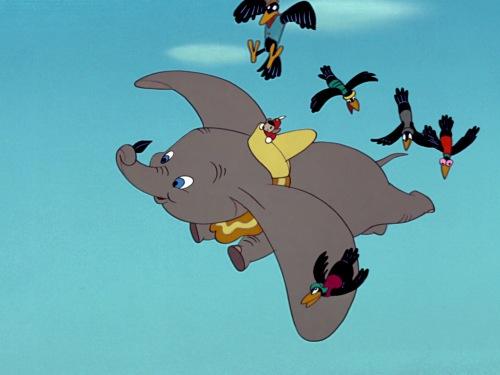 Dumbo Flying
