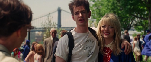 The Amazing Spider-Man 2 Peter and Gwen