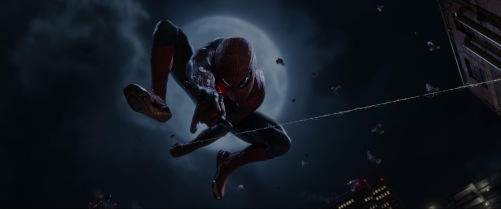 The Amazing Spider-Man Peter Swinging 3