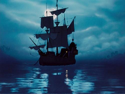 Peter Pan Pirate Ship