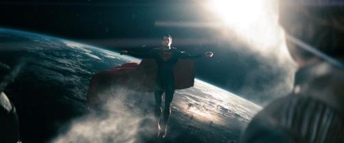 Man Of Steel Superman In Space 2