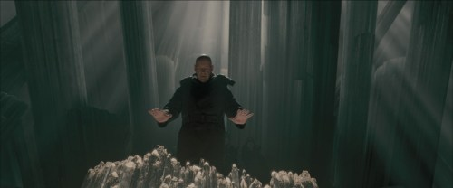 superman returns lex in the fortress