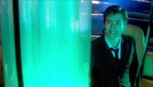 Doctor Who New Earth Smile
