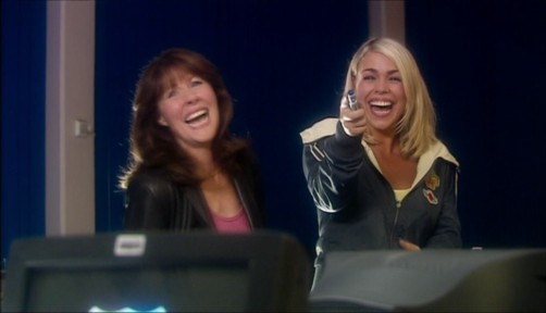 Doctor Who School Reunion Rose And Sarah Jane