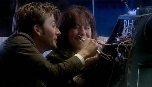 Doctor Who School Reunion Ten And Sarah Jane 2