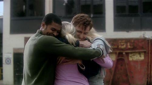 Doctor Who The Christmas Invasion Group Hug