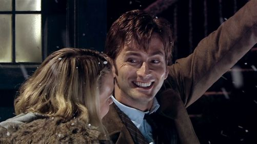 Doctor Who The Christmas Invasion Snowfall 2
