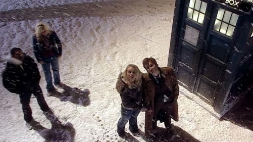 Doctor Who The Christmas Invasion Snowfall 4