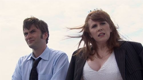 Doctor Who The Runaway Bride Rooftop Chat