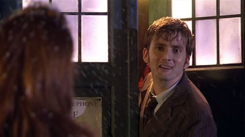 Doctor Who The Runaway Bride Ten's Farewell