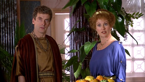 Doctor Who The Fires Of Pompeii Caecilius 3