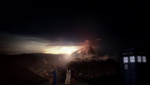 Doctor Who The Fires Of Pompeii Eruption