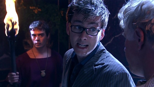 Doctor Who The Fires Of Pompeii Ten Investigating 2