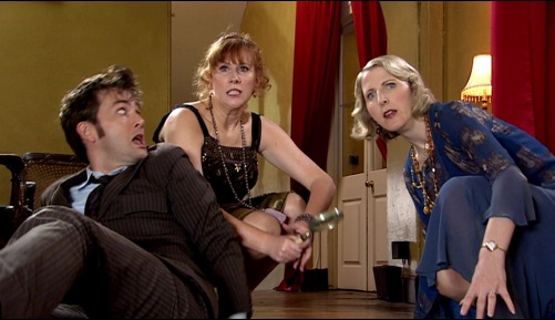 Doctor Who The Unicorn And The Wasp Ten & Donna 6