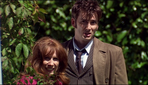 Doctor Who The Unicorn And The Wasp Ten & Donna