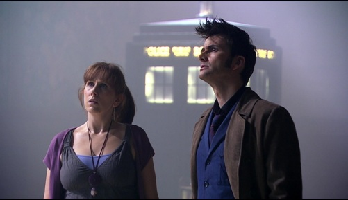 Doctor Who Silence In The Library Ten & Donna 2