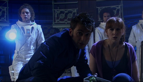 Doctor Who Silence In The Library Ten & Donna 5