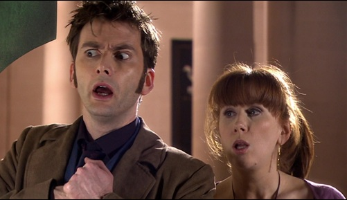 Doctor Who Silence In The Library Ten & Donna