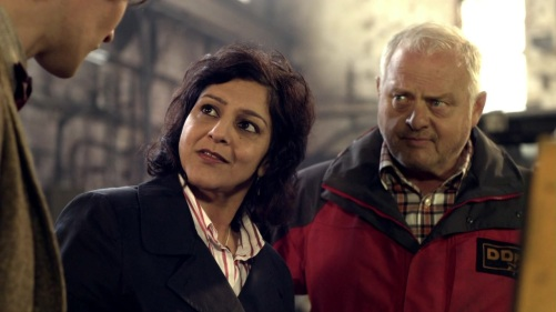 Doctor Who The Hungry Earth Nasreen And Tony 2