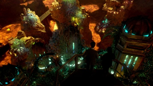 Doctor Who The Hungry Earth Underground City 2