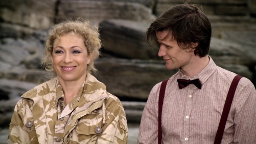 Doctor Who The Time Of Angels On The Beach 5