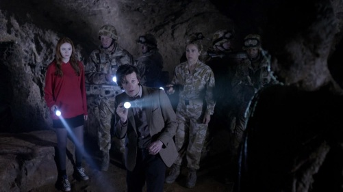 Doctor Who The Time Of Angels Underground Caverns 4