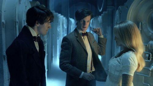 Doctor Who A Christmas Carol First Kiss 3
