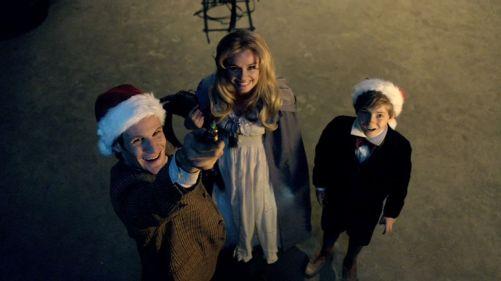 Doctor Who A Christmas Carol Shark Ride 2