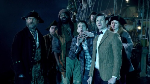 Doctor Who The Curse Of The Black Spot Walking The Plank 15