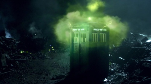 Doctor Who The Doctor's Wife Haunted TARDIS 3