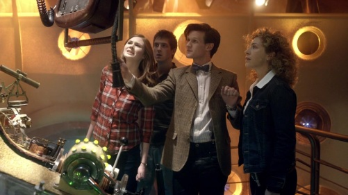 Doctor Who The Impossible Astronaut Eleven's Gang 3