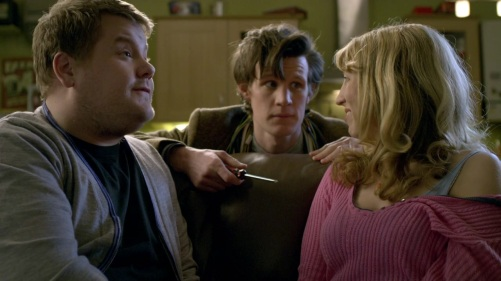 Doctor Who The Lodger Couch 2