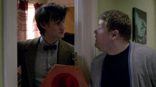 Doctor Who The Lodger Craig And Eleven