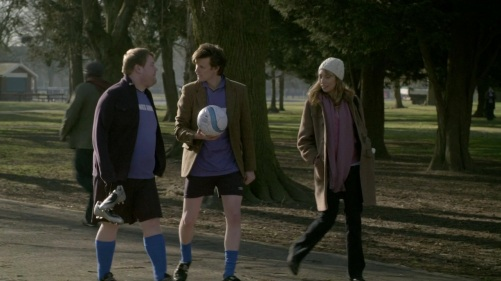 Doctor Who The Lodger Soccer