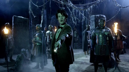 Doctor Who The Pandorica Opens Green Glow