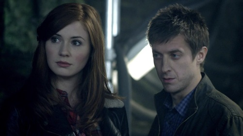 Doctor Who The Rebel Flesh Frightened Amy 3
