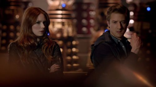 Doctor Who Asylum Of The Daleks Amy And Rory