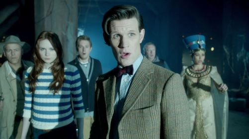 Doctor Who Dinosaurs On A Spaceship The Gang 2