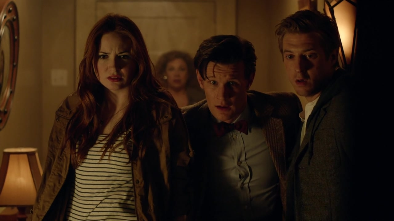 Doctor Who The Angels Take Manhattan A Trap 7