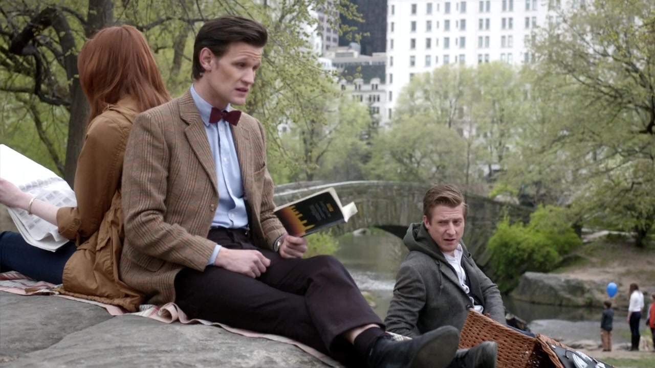 Doctor Who The Angels Take Manhattan Picnic In Central Park 2