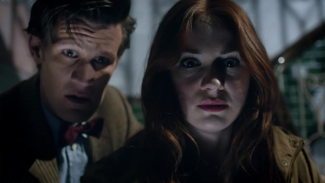 Doctor Who The Angels Take Manhattan Rory In The Dark 4