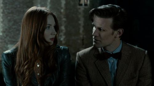 Doctor Who The Power Of Three Riverside Chat 3