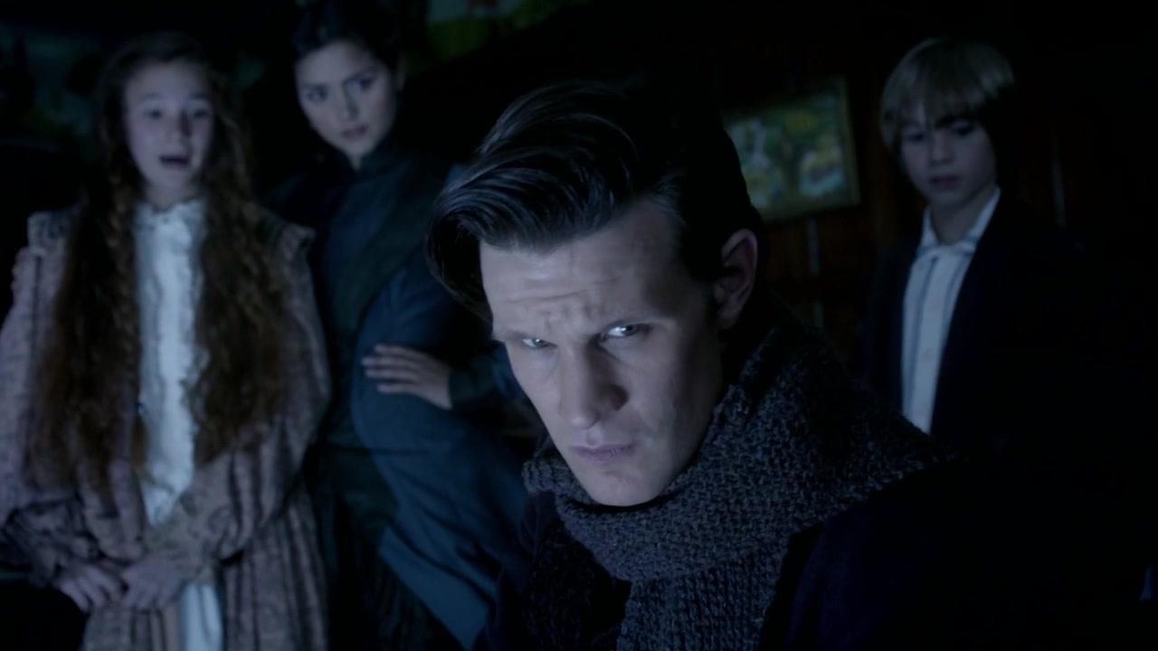 Doctor Who The Snowmen Protective Clara 6