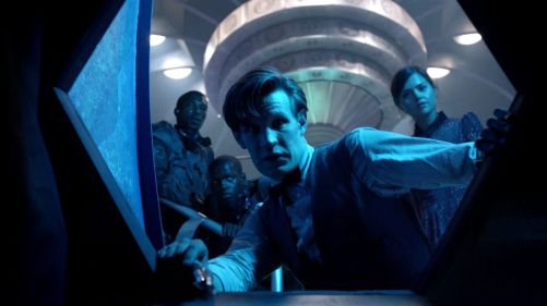 Doctor Who Journey To The Centre Of The TARDIS Clara Wandering 15